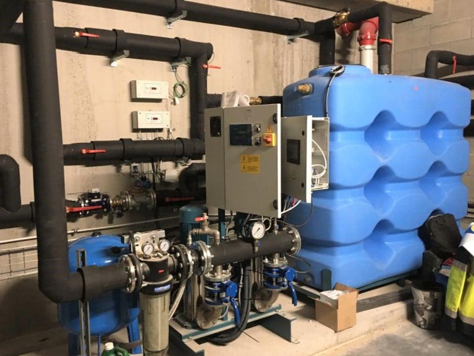 Système récupération eau de pluie - IKEA VENISSIEUX