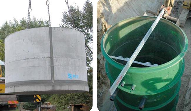 station-relevage-cuve-beton-acier